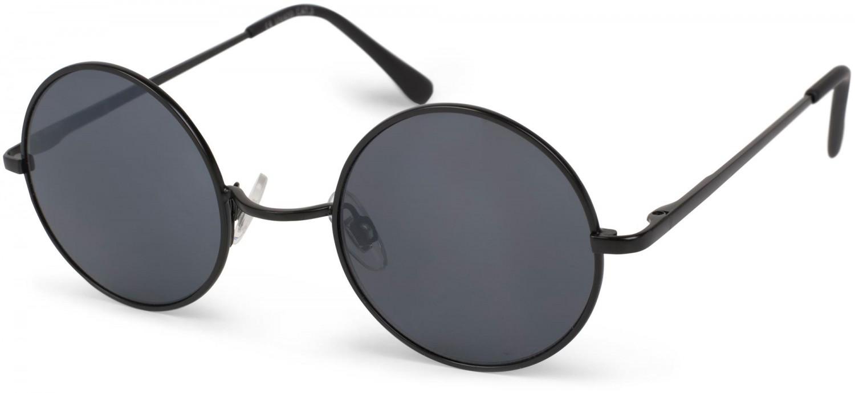 stylebreaker sonnenbrille mit runden gl sern und schmalem metall. Black Bedroom Furniture Sets. Home Design Ideas