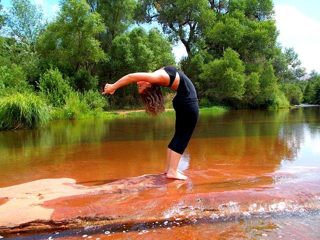 Anti-Stress-Programm Yoga Rückwärtsbeuge