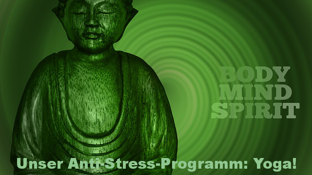 Anti-Stress-Programm Yoga Cover