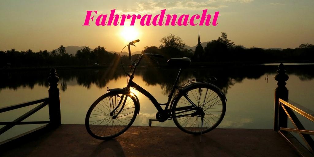 Urlaub zuhause - Tipps für Daheimgebliebene Fahrradnacht