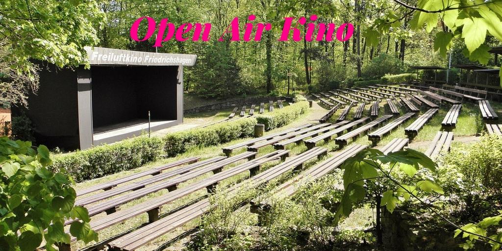 Urlaub zuhause - Tipps für Daheimgebliebene Open Air Kino