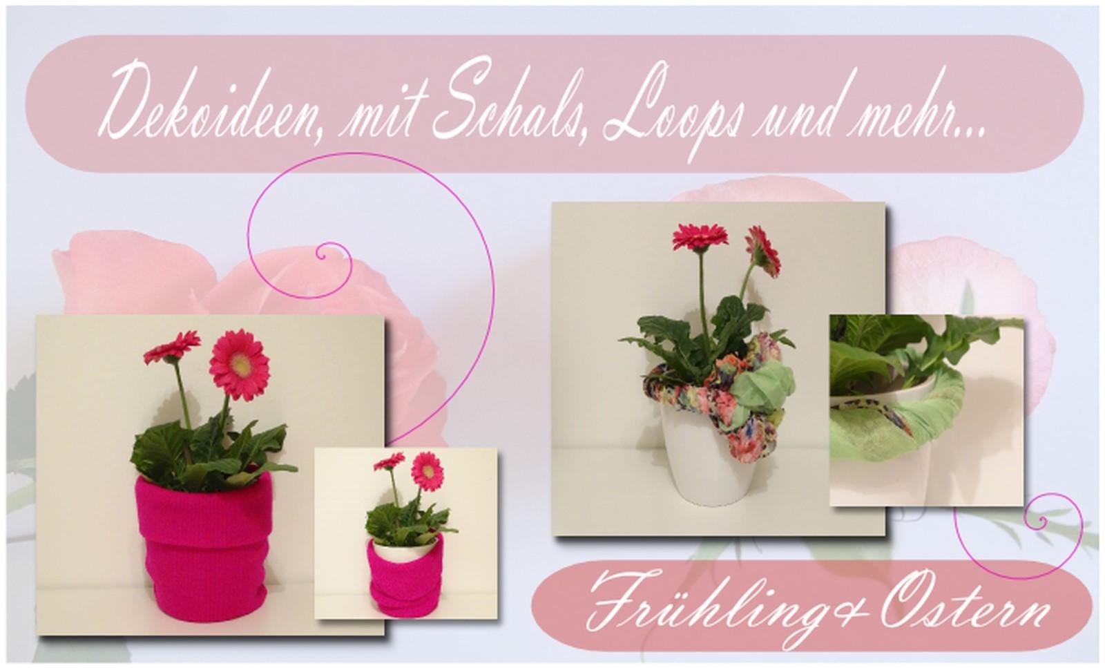DIY Anleitung Oster Deko Special Blumentöpfe