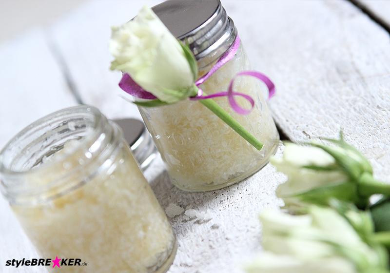 DIY Body Scrub Honey Coconut 1j