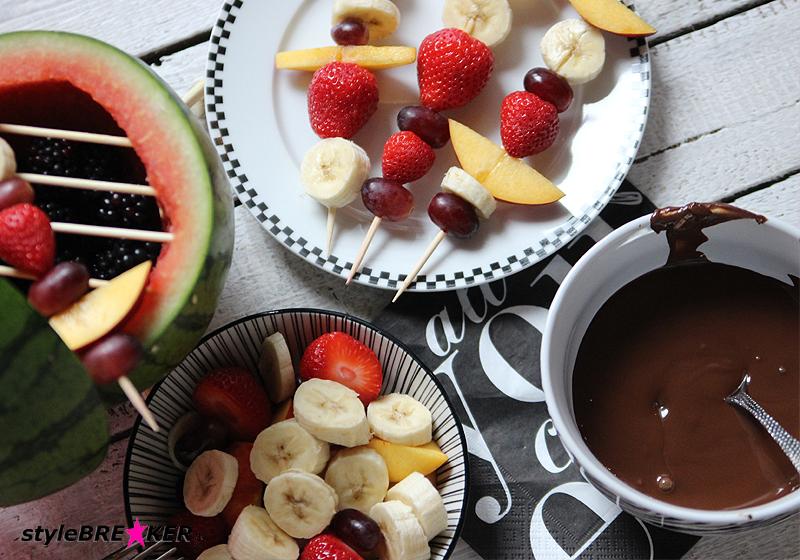 Rezept Schoko-Früchte-Fondue 1c
