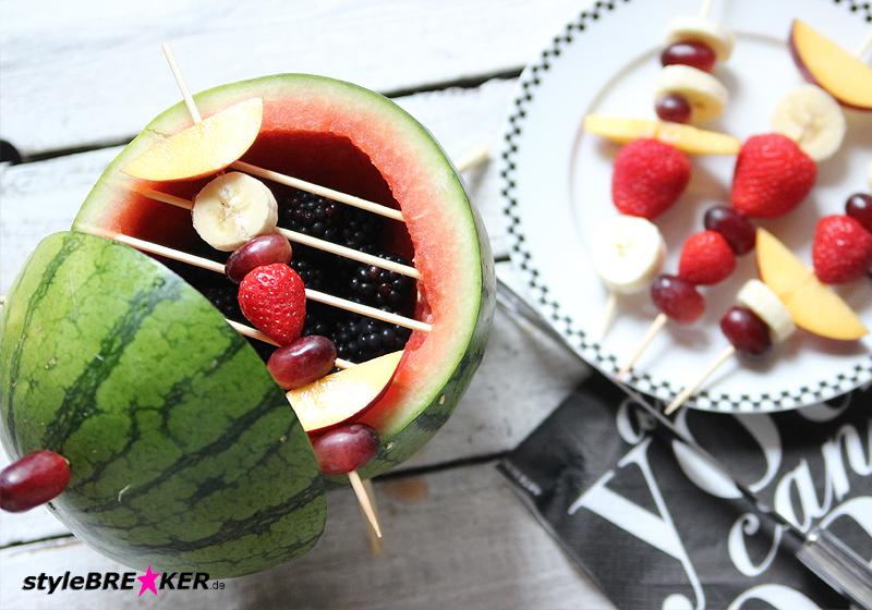 Rezept Schoko-Früchte-Fondue 1m