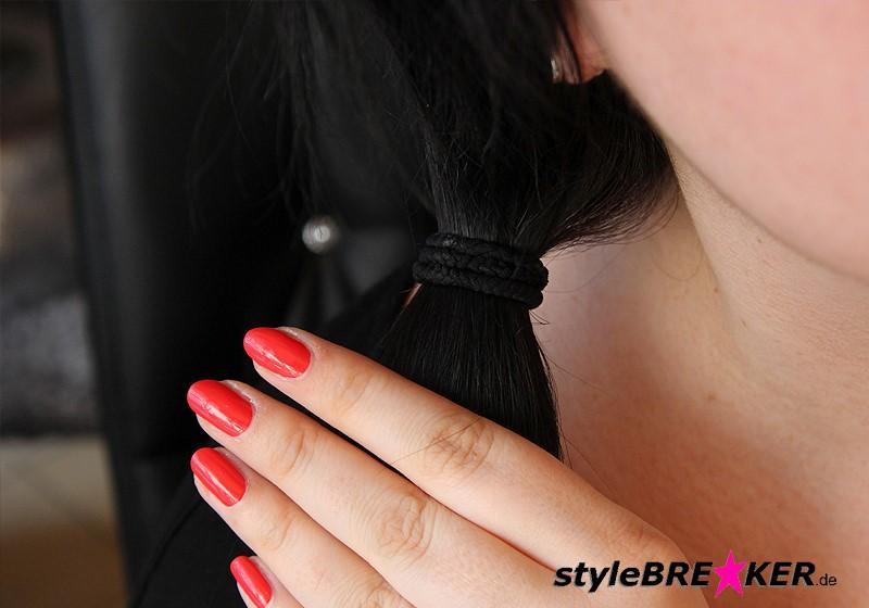 Hairstyling Flechtfrisur mit Loop c