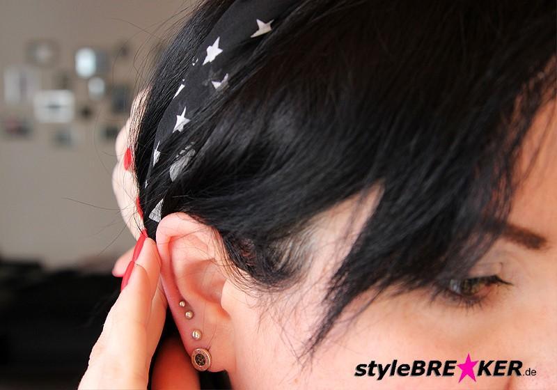 Hairstyling Flechtfrisur mit Loop d