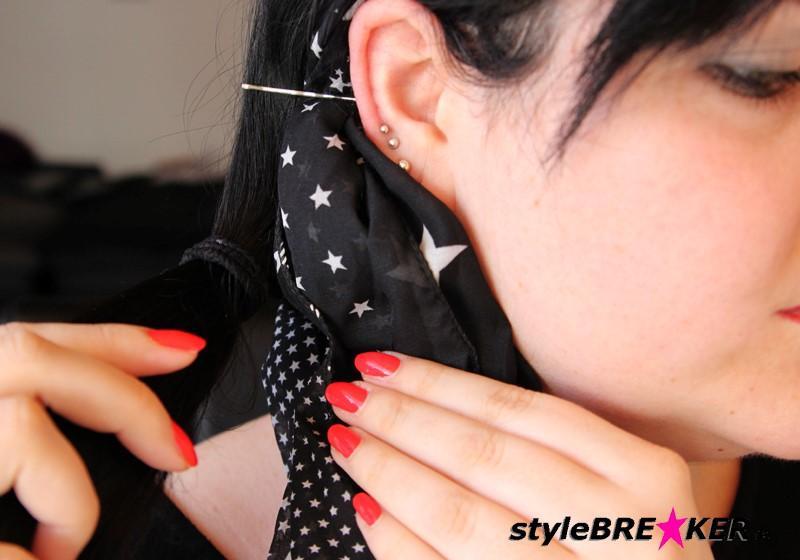 Hairstyling Flechtfrisur mit Loop e