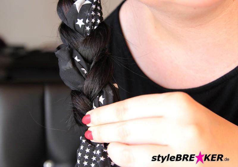 Hairstyling Flechtfrisur mit Loop h