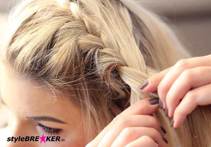 Hairstyling Flechtfrisur Festival Beach 1d