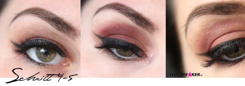 Beauty Inspiration - Make-Up in Brauntönen & Rosegold Step by Step 2