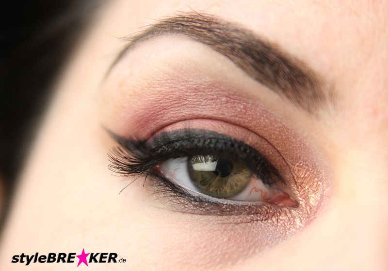 Beauty Inspiration - Make-Up in Brauntönen & Rosegold geschminkt 1e