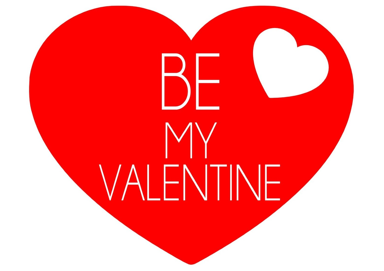 Valentinstag Grafik Rot