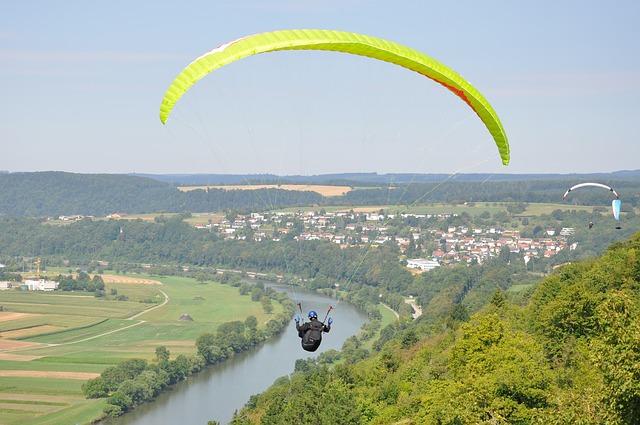 Urlaub Zuhause Paragliding